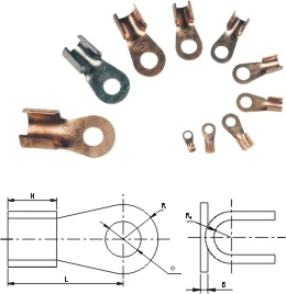 China Dt Series Cable Lug Copper Connecting Terminal - China Cable Lug, Cable Connector pictures & photos