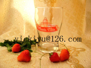 180ml Priniting Glass Cup Glass Drinking Mug Glass Beer Cup pictures & photos