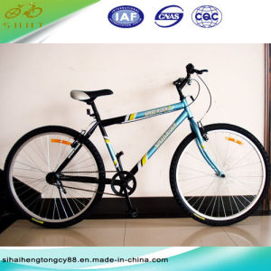 26′′steel Non Suspension Mountain Bicycle/Bike (SH-MTB040) pictures & photos