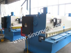 Metal Guillotine Machine/Cutting Machine/Hydraulic Shearing Machine QC11y-10X3200 pictures & photos