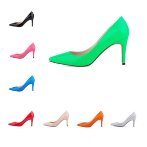 2016 New Fashion Classic High Heel Lady Dress Shoes (s21) pictures & photos