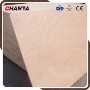 Red Hardwood Commercial Plywood for Furniture From Linyi Factory pictures & photos