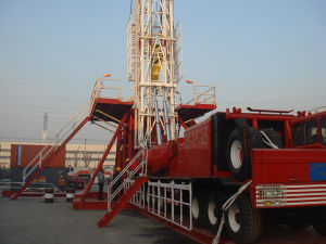 3000m Zj30 Truck-Mounted Rig for Oilfield Equipment 750HP