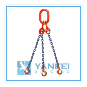 G80 Three Legs Chain Sling with Hooks pictures & photos