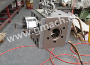 Plastic Cast Film Extrusion Machine Used Melt Gear Pump pictures & photos