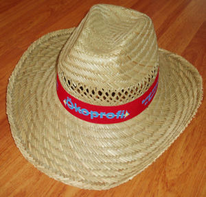 straw promotion cowboy hat pictures & photos