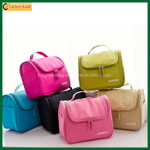 Lady Polyester Cosmetic Bag Beauty Pouch Toilet Bag (TP-COB031) pictures & photos
