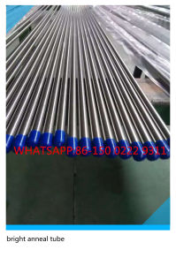 304 316 Seamless Plain End Stainless Steel Bright Anneal Pipe pictures & photos