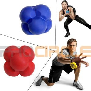 Coordination Baseball Agility Trainer Rubber Reaction Ball (PC-RB2001) pictures & photos