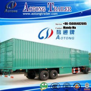 2 Axle Cargo Box Semi Trailer, Van Semi Truck Trailer pictures & photos