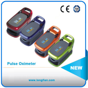 Colorful Hot Sell Factory Fingertip Pulse Oximeter with CE Made in China pictures & photos