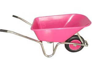 Plastic Tray Wheelbarrow (WB6414)