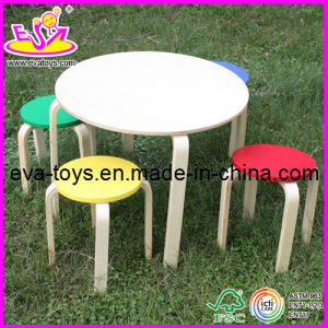 High Quality Children Furniture - Study Table and Chairs (W08G038) pictures & photos