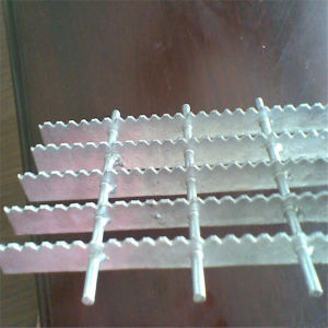 Galvanized Serrated Steel I Bar Grating pictures & photos