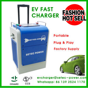 20kw Portable EV Fast CCS Chademo Charger pictures & photos