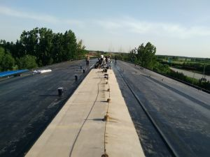 EPDM Waterproof Membrane As Pond Liner / Rubber Roof Membrane pictures & photos