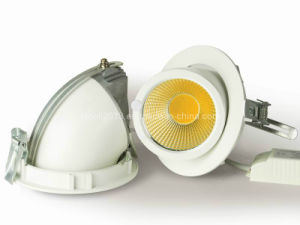 New Adjustable 90degree 15W 20W Round Gimbal COB LED Downlight pictures & photos
