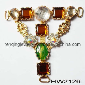 Acrylic Triangle Lady Sandal Chain (HW2126)