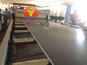 PVC/WPC Foam Board Processing Line pictures & photos