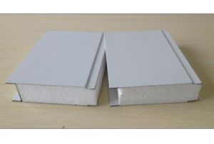 Fireproof Waterproof Insulated EPS (foam) Sandwich Panel Insulated Steel Roofing Panels pictures & photos