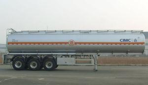 50000L Alumminum Alloy Oil Tanker Semitrailer 3 Axles Fuel Tank Semi Trailer