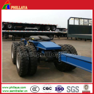 Hydraulic Heavy Loading Dolly in Lowbed Trailer / Semi Trailer pictures & photos