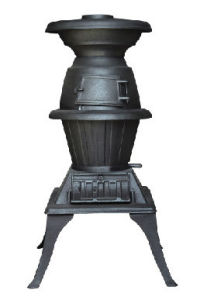 Cast Pot Belly Stove Wood Burning Stove (FIPA020) pictures & photos