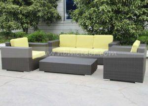 All Weather Outdoor Furniture Waterproof Garden Wicker Sofa Set (MTC-284) pictures & photos