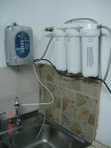 Alkaline Water Ionizer (Japan Technology, China manufacturer) with 3 Stages Prefilter System and Magnetizer Function pictures & photos