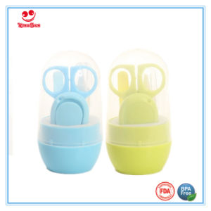 Safe 4 Piece Nail Cutter Set for Nursing Babies pictures & photos