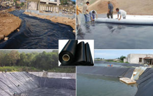 Waterproof Compound Geomembrane for Water Reservation pictures & photos