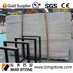 Building Material Stone Eurasian Wood Grain Marble for Flooring