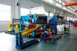 Foil Winding Machine for Making Electrical Reactor