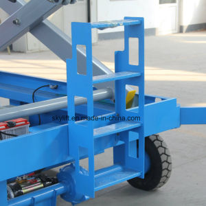6m Chinese Mobile Hydraulic Scissor Lift pictures & photos