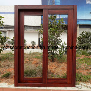 Thermal-Break Powder Coated Aluminum Sliding Window with Double Glazing Glass pictures & photos