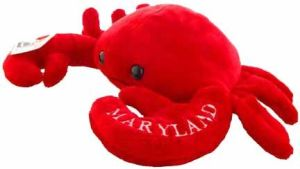 Soft Toy Crab, Stuffed Toy Crab