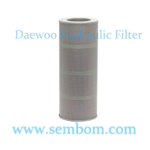 High Performance Hydraulic Oil Filter for Daewoo/Doosan Excavator/Loader/Bulldozer pictures & photos