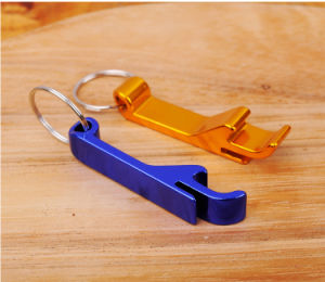Aluminium Alloy Keychain Keychain Ring Bottle Opener pictures & photos