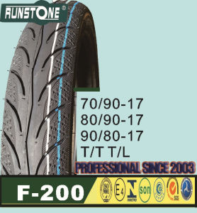 High Speed Tyre 70/90-17 80/90-17 90/80-17 pictures & photos