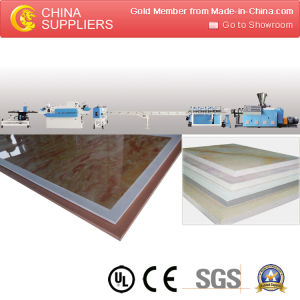 PVC Free Foam Board Production Line pictures & photos
