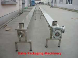 Horizontal Stainless Steel Powder Screw Conveyor pictures & photos