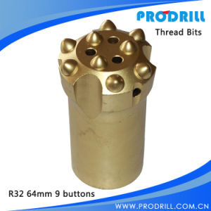 Carbide Tipped Thread Drill Button Bits for Rock Drilling& Blasting pictures & photos
