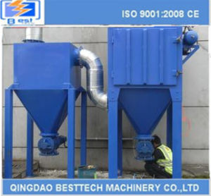 2016 Quality Assurance Bag Type Dust Collector Pulsed Jet Cloth Filter pictures & photos
