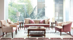Saudi Arab Sofa New Classic Fabric Sofa / pictures & photos