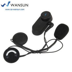 Wansun 10A07A 1000m Bluetooth Interphone Bluetooth Motorcycle Helmet Intercom