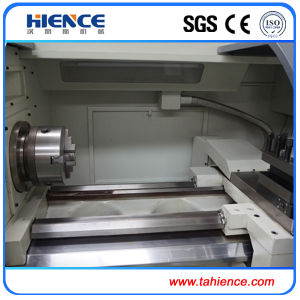 Fanuc Siemence GSK Cheap Price Metal CNC Turning Cutting Lathe pictures & photos