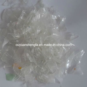 Competitive Price with High Quality Transparent Pet Flakes (hot washed) pictures & photos