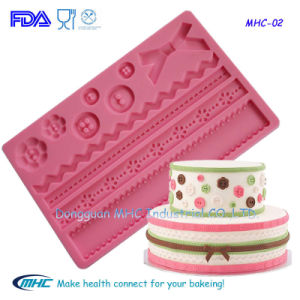 FDA Silicone Fondant and Gum Paste Mold for Cake Decoration