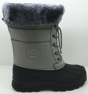 Warm Injection Boots / Winter Snow Boots with PU Upper (SNOW-190026) pictures & photos