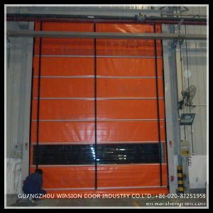 Industry Automatic Electric Good Price PVC Folding Gate
